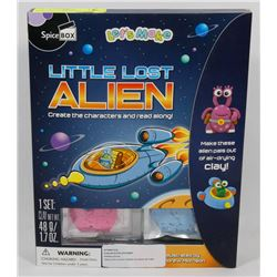 NEW LET'S MAKE LITTLE LOST ALIEN CRAFT/ BOOK SET