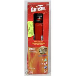 GARRISON HEAVY DUTY FIRE EXTINGUISHER WITH METAL