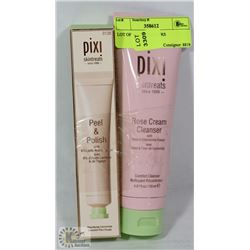 LOT OF 2 PIXI CLEANERS