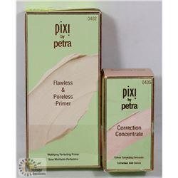 LOT OF 2 PIXI MAKE UP PRIMER AND CONCEALER