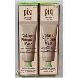 LOT OF 2 PIXI COLLAGEN PLUMPING MASK