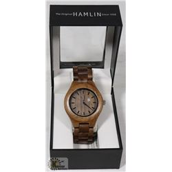 HAMLIN WOOD WATCH