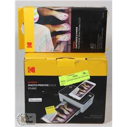 HODAH PHOTO PRINTER AND PAPER