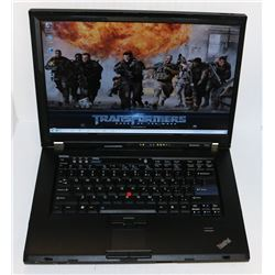 LENOVO T SERIES WIN 7 PRO LAPTOP WITH AC ADAPTOR