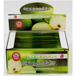 BOX WITH 12 PACKS OF PREMIUM FLAVOURED PAPERS