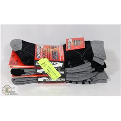 3PK MENS HEAT WAVE SOCKS