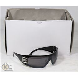 BOX OF CHANEL REPLICA DESIGNER SUNGLASSES, SMOKE