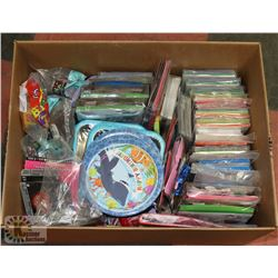 LARGE VARIETY PARTY SUPPLIES BOX