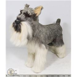 REAL HAIR SCHNAUZER BARKING