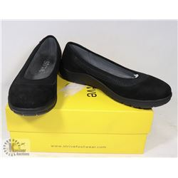 STRIVE HAMPTON WOMANS BLACK SIZE 8