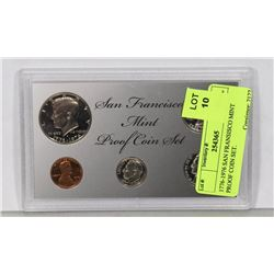 1776-1976 SAN FRANCISCO MINT PROOF COIN SET.