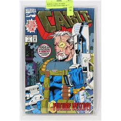 MARVEL CABLE 1ST ISSUE COLLECTORS ITEM COMIC BOOK