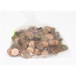 BAG OF USA WHEAT PENNIES