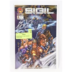 SIGNED SIGIL #1 FIRST EDITION COMIC BOOK