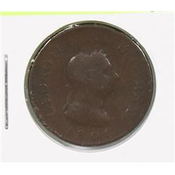1806 GB GEORGE III FARTHING