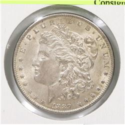 USA 1889 MORGAN SILVER $1 COIN