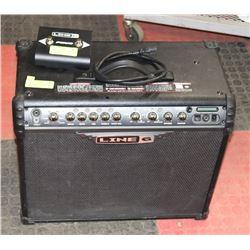 LINE6 75 WATT GUITAR AMP WITH SWITCH & CORD.