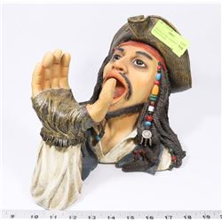 PIRATES OF THE CARIBBEAN WINE BOTLE HOLDER