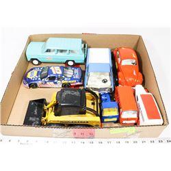 BOX OF COLLECTIBLE CARS INCL TONKA