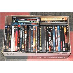 LOT OF 35 DVD MOVIES ACTION ADVENTURE