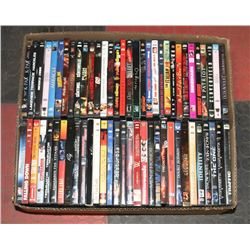 LOT OF 63 DVD MOVIES, ACTION/ADVENTURE COMEDY