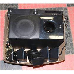 BOX W/LG DIGITAL SURROUND RECEIVER WITH
