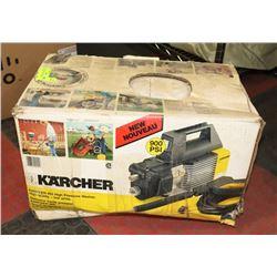 KARCHER 900 PSI PRESSURE WASHER