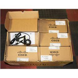 BOX OF 23 CISCO USB CAMERAS.