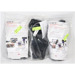 3 PAIRS OF ANTI SKID DETACHABLE SAFETY SOLES