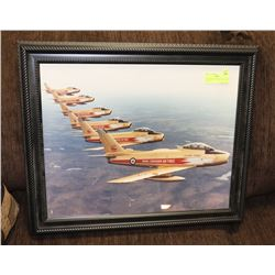 "RCAF GOLDEN HAWKS-LARGE PRINT (20"" X 15.5"")"
