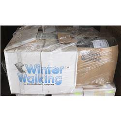 PALLET OF WINTER WALKING ICE CLEATS