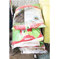 LOT OF 8 BAGS OF TRIPLE MIX 30L
