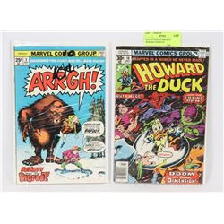 LOT OF 2 COLLECTIBLES COMICS, HOWARD THE DUCK