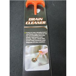 Drain Cleaner / great for getting Hair out of clogged draines / quick & easy