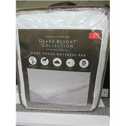 New Grand Resort Collection Cool Touch Mattress Pad / Twin