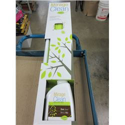 New Mirage Clean Complete Wood Floor Cleaning Kit / comes with