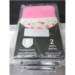 8  New Pairs of Training Pants / 30 mo / girls
