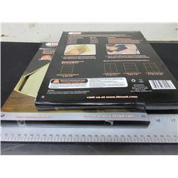 "2 New Case of Sandpaper 9 x 11"" Sheets Assorted grits / 80 sheets total"