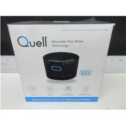 Quell Wearable Pain Relief Technology / 100% drug free / blocks chronic pain