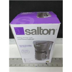 New Salton single serve Coffee Maker / comes with ceramic Mug and filter