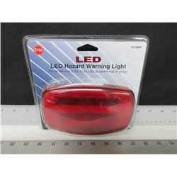 New LED Magnetic Hazard Warning Light / 180 Flashes per min or solid red
