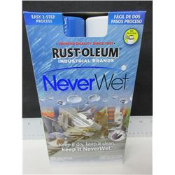 Rust-Oleum Never Wet / Use on surfaces you don't want Mud , Water or Ice