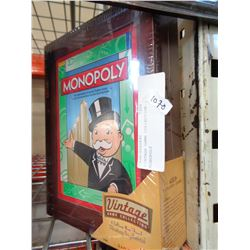 VINTAGE GAME COLLECTION MONOPOLY