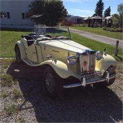 NO RESERVE 1952 MG TD ROADSTER
