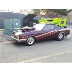 FRIDAY NIGHT 1975 CHEVROLET VEGA RACE CAR COMES WITH TRAILER