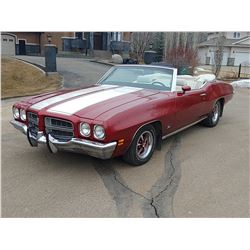 FRIDAY NIGHT 1972 PONTIAC LEMANS SPORT CONVERTIBLE