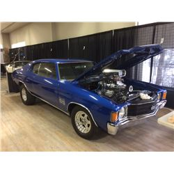 FRIDAY NIGHT 1972 CHEVELLE SS CUSTOM 632 CID 1200HP SHOW CAR