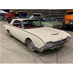 FRIDAY NIGHT 1961 FORD THUNDERBIRD TWO DOOR HARDTOP 75000 ACTUAL MILES