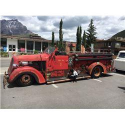 1938 BICKLE 66E FIRE TRUCK CUSTOM HOTROD