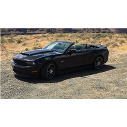 2010 FORD MUSTANG GT CONVERTIBLE 600HP CUSTOM
